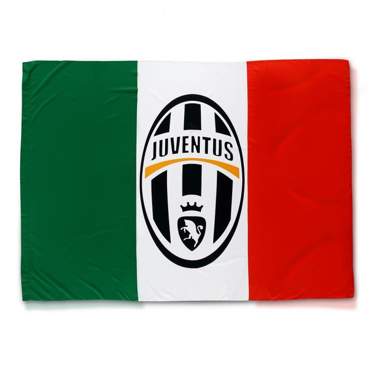 JUVENTUS TURIN Juventus Fahne Black 140x100/cm