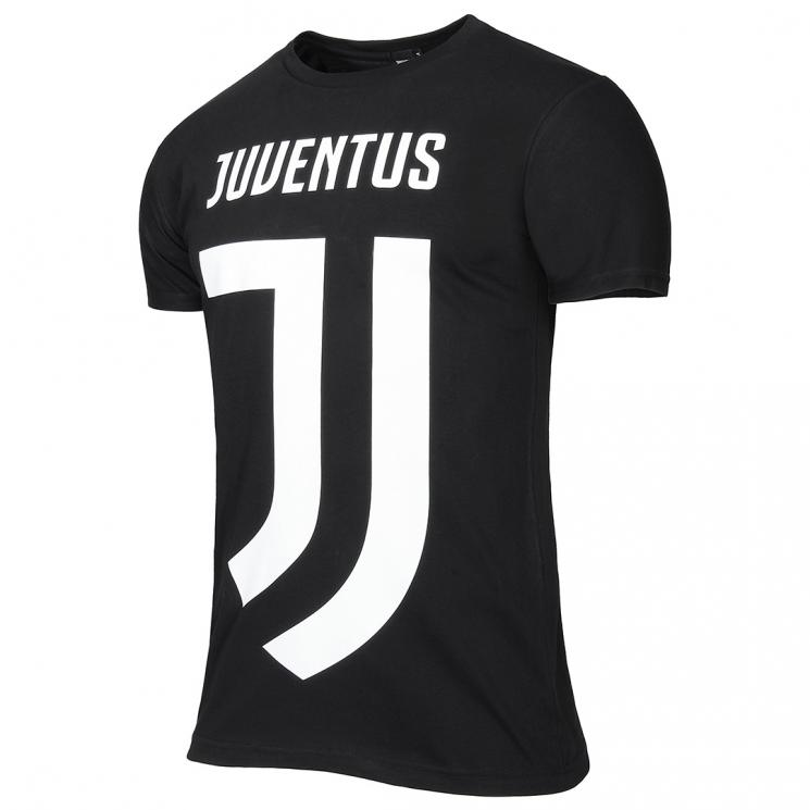 With Shirt Logo Official T New 2017 Juventus White Black qZx4wzpt