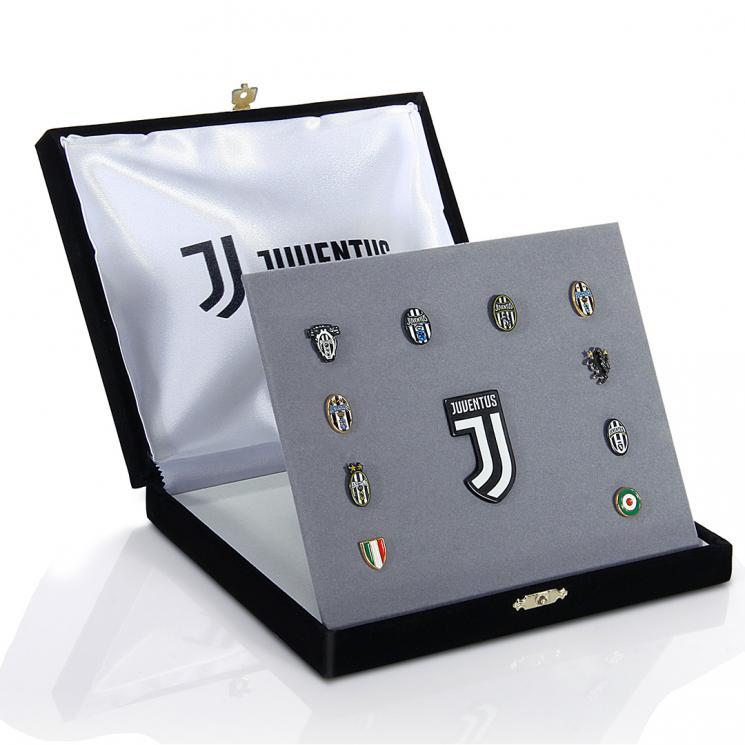 Célèbre JUVENTUS COFANETTO MARCHI STORICI - Juventus Official Online Store UR52