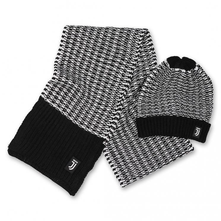 Home · Accessori · Accessori abbigliamento · Cappelli e berretti  JUVENTUS  SET BERRETTO E SCIARPA GRIGI BAMBINO. ≮ ≯ bd8e5b5b7158