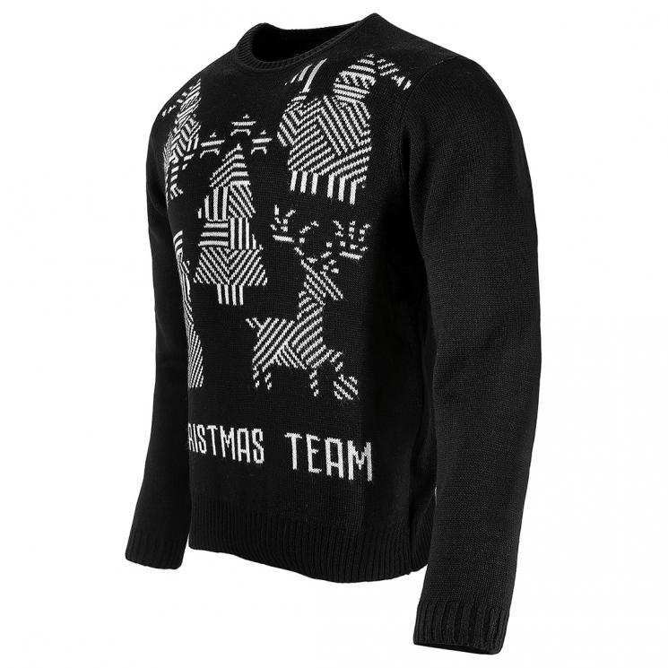 Juventus Ugly Christmas Sweater Black Juventus Official Online Store