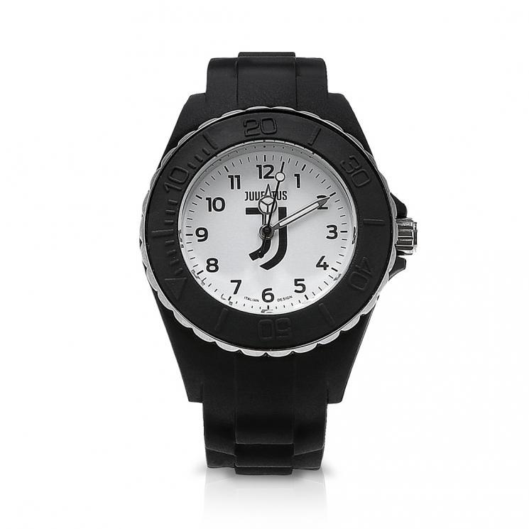 juventus orologio reef bambino logo bianco juventus