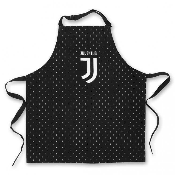 Juventus grembiule cucina logo nero juventus official for Cucina logo