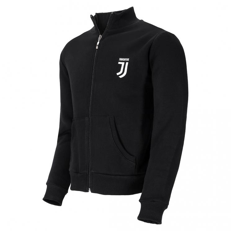 purchase cheap deba1 772a7 JUVENTUS BLACK & WHITE FULL-ZIP SWEATSHIRT - KIDS