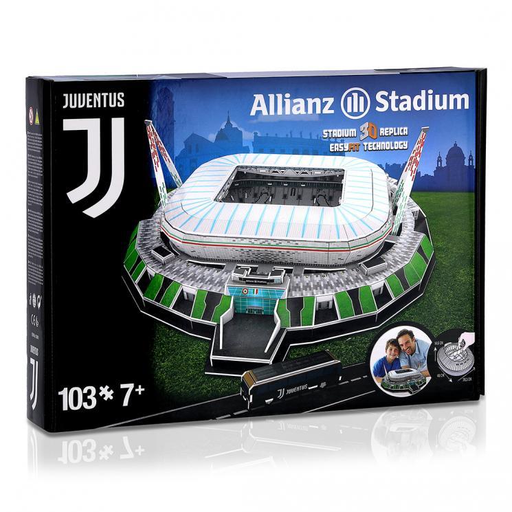 JUVENTUS ALLIANZ STADIUM 3D PUZZLE - Juventus Official Online Store 6a160425de4