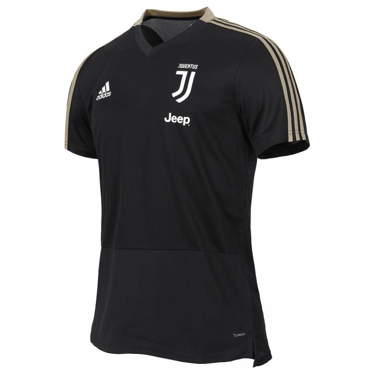 new concept 2665d 6e2f9 JUVENTUS BLACK TRAINING JERSEY 2018/19