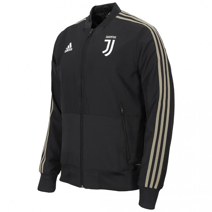 new concept 8269c d9927 JUVENTUS BLACK PRESENTATION JACKET 2018/19