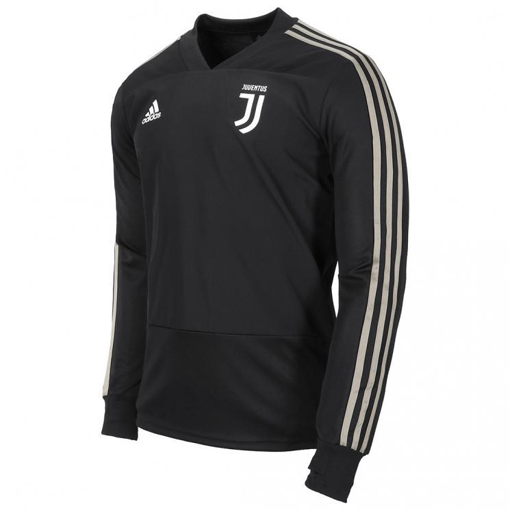JUVENTUS BLACK TRAINING TOP 2018 19 - Juventus Official Online Store 3dd9558b2