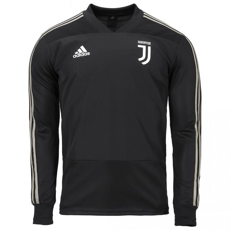 88e6acb4a JUVENTUS BLACK TRAINING TOP 2018 19 - Juventus Official Online Store