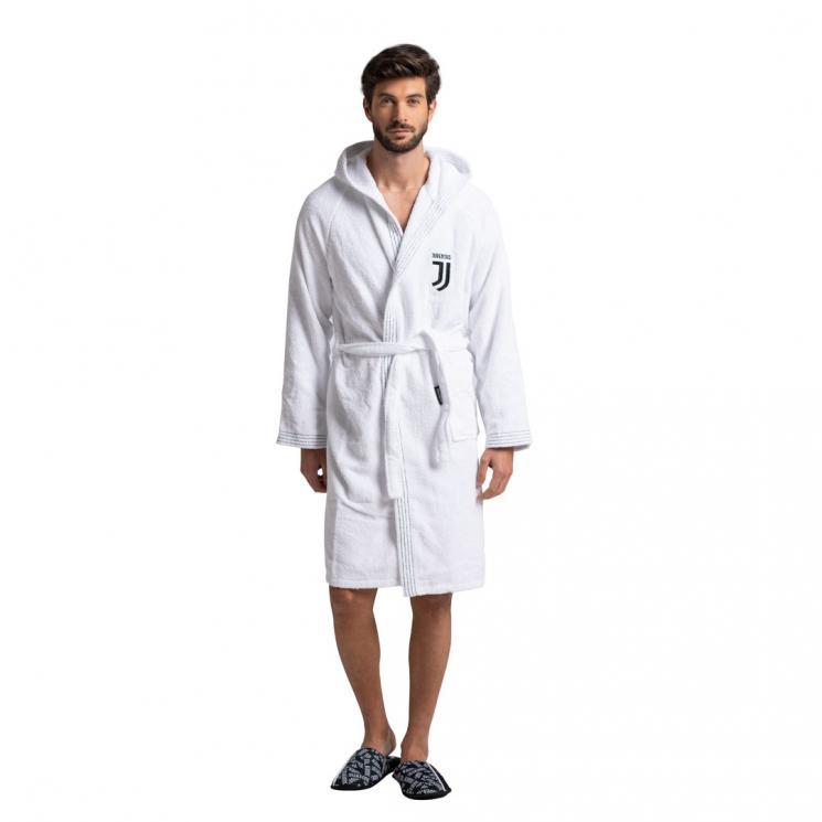 95b9593bb0 Home · Apparel · Men Apparel · Slippers and Bathrobes  JUVENTUS WHITE  BATHROBE. ≮ ≯