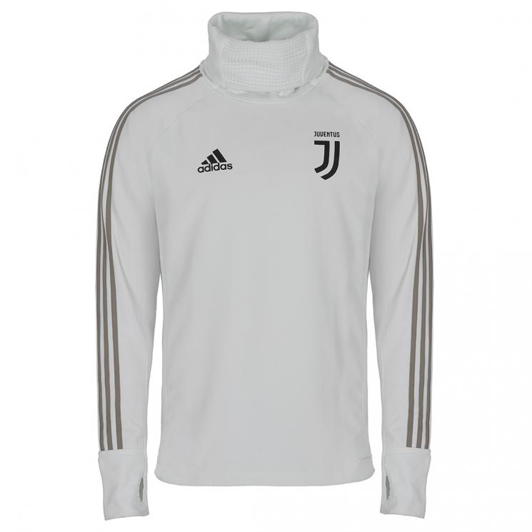 sports shoes 3d73b 29ea9 JUVENTUS WHITE WARM TRAINING TOP 2018/19