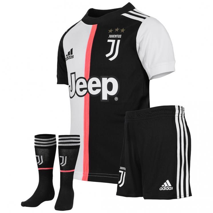56b8defe3 Juventus Mini Kit 2019 2020  Home Kit for Youth - Juventus Official ...