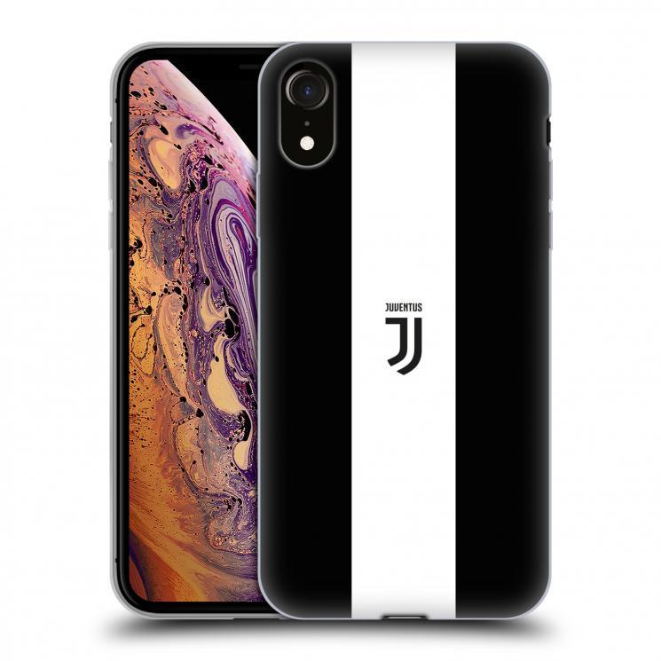 JUVENTUS IPHONE XR BLACK & WHITE COVER