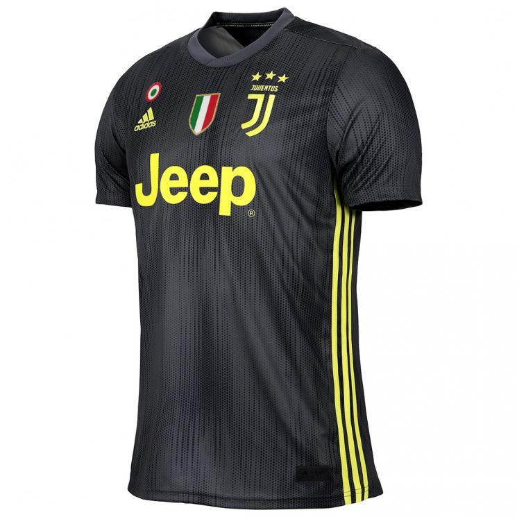 newest e280b 216bc JUVENTUS THIRD JERSEY 2018/19
