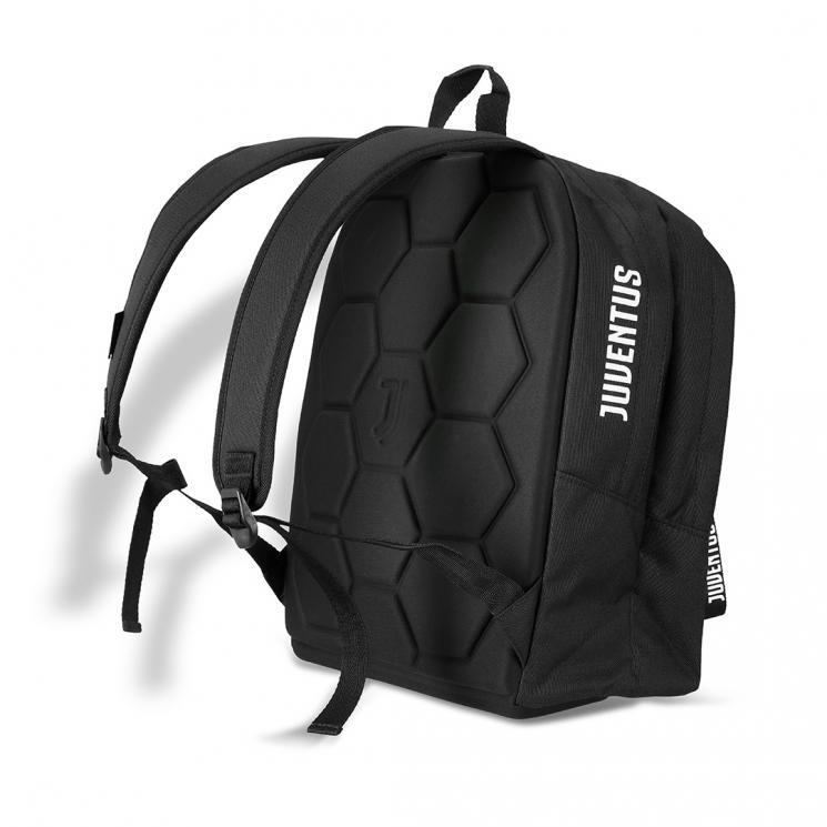 Official Juventus Football Club Team Crest Black Lunch Bag Lunch Box School