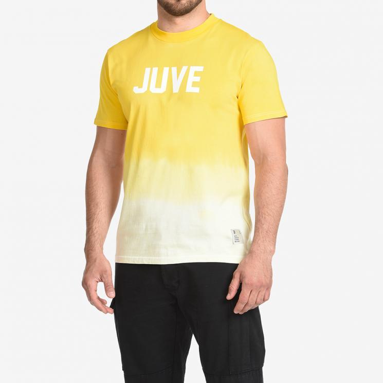 Juventus Icon T Shirt Degrade Yellow Juventus Official Online Store
