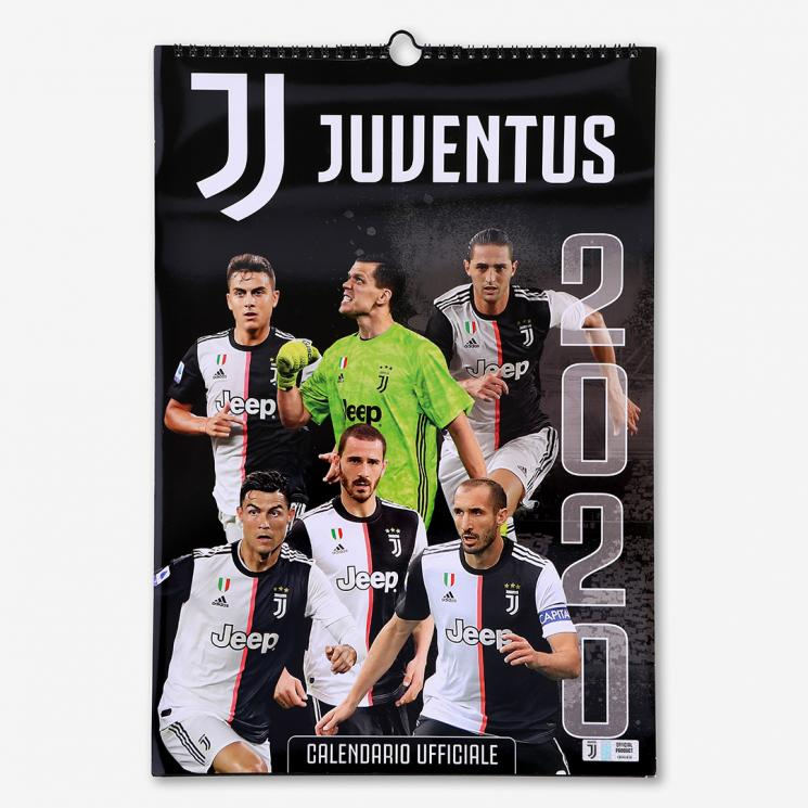 JUVENTUS CALENDARIO DA PARETE 2020 - Juventus Official ...
