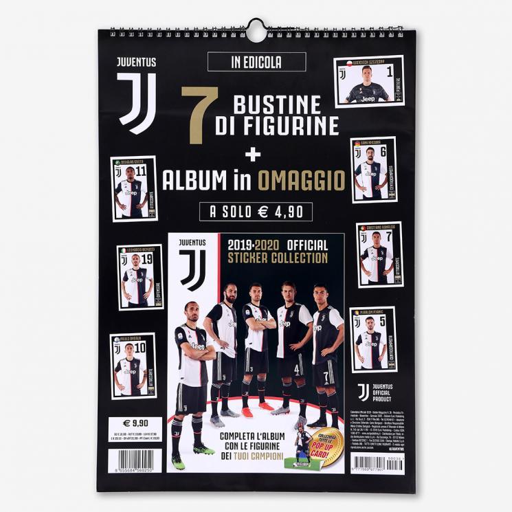 Calendrier Juventus 2021 JUVENTUS 2020 CALENDAR   Juventus Official Online Store