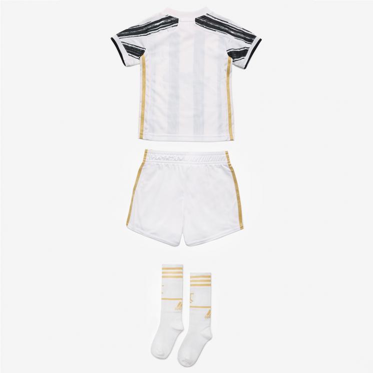 Fussball Shirt und Shorts 2020//2021-116 Vollst/ändiges FC Tenue mit Trikot und kurzer Hose JUVENTUS Morefootballs Offizielles Turin Heimspiel Trikot Set f/ür Kinder