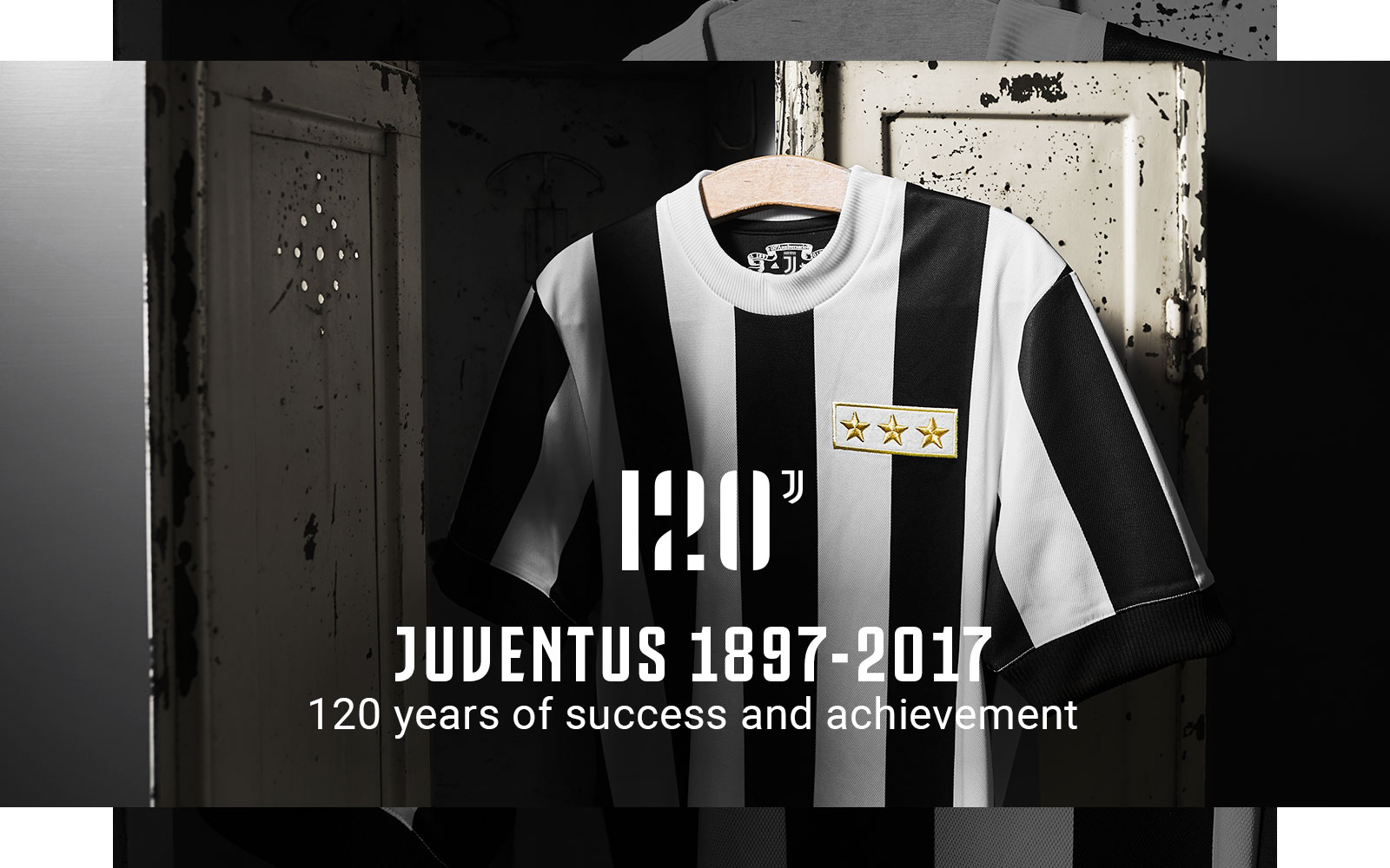 best service 42302 4d646 Juventus 120 Anniversary Jersey - Juventus Official Online Store
