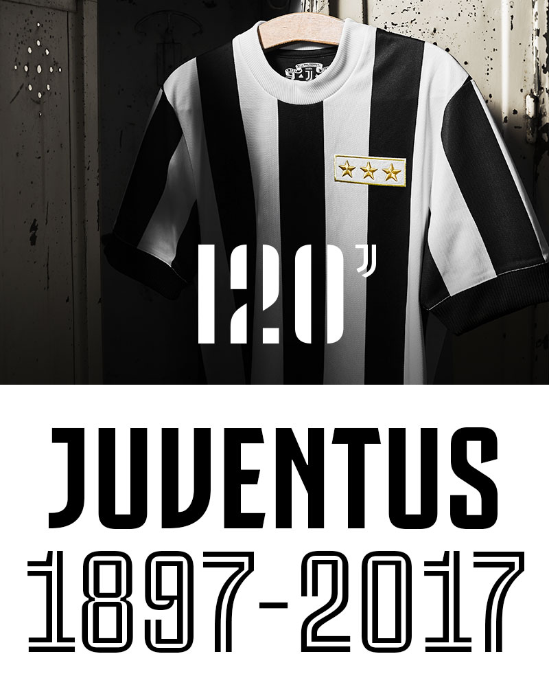 ea440675497 Juventus 120 Anniversary Jersey - Juventus Official Online Store