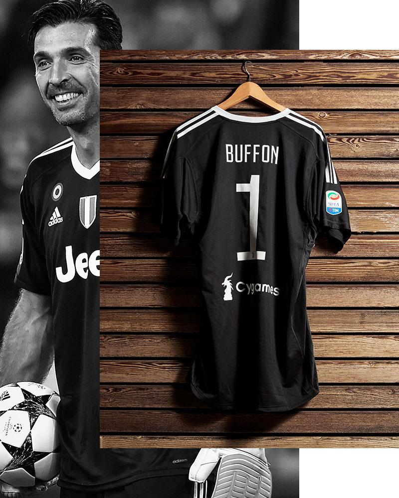 size 40 ac982 1b65c Juventus Buffon celebrative promo Jersey - Juventus Official ...