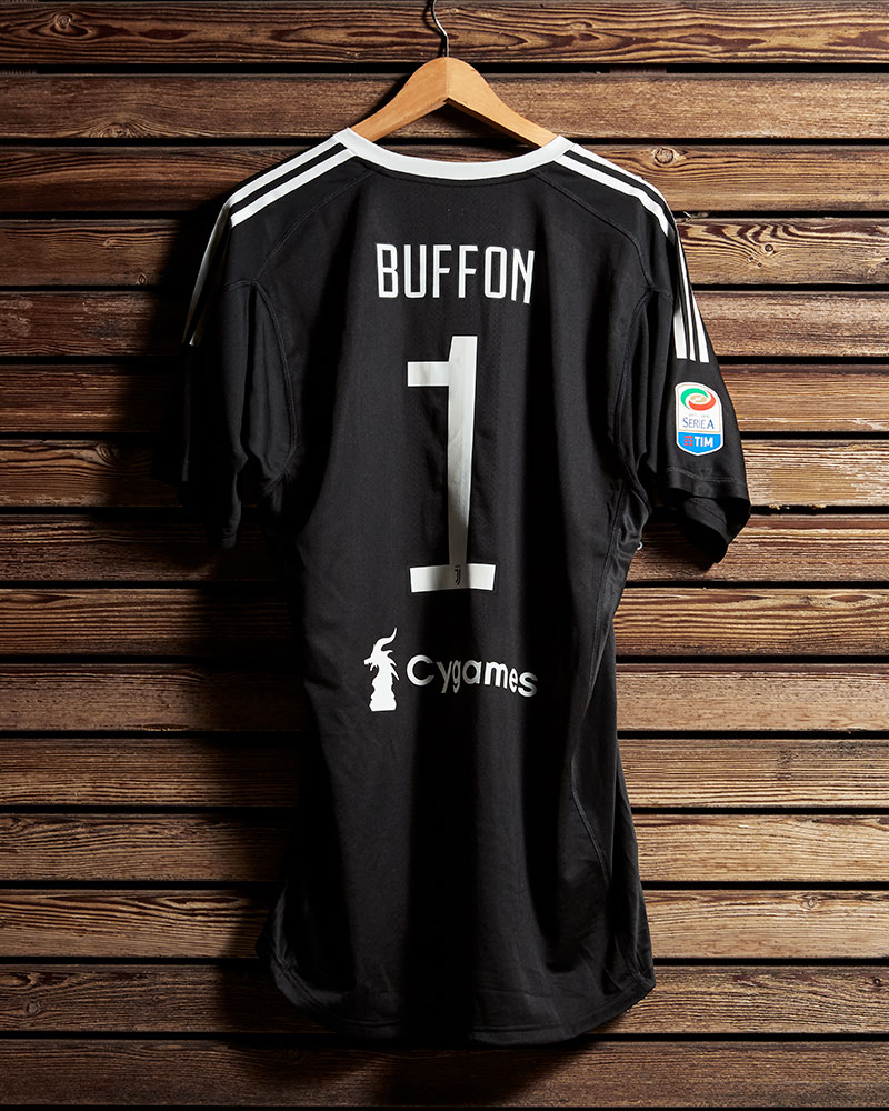 size 40 a8d08 fb276 Juventus Buffon celebrative promo Jersey - Juventus Official ...