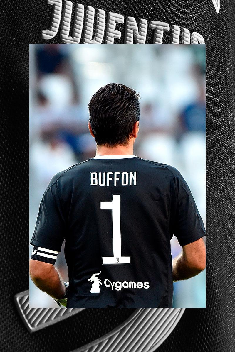92b56b83531 Juventus Buffon celebrative promo Jersey - Juventus Official Online ...